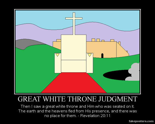 Great White Throne Judgment
